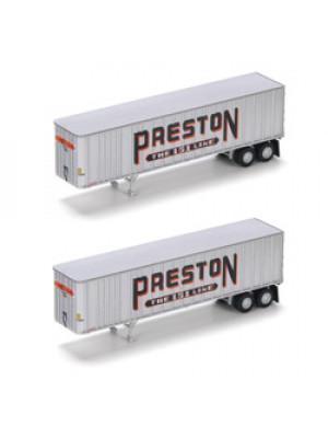 athearn 17119 preston 40' trailer 2 pack