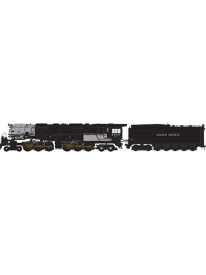 athearn 22929 up 4-6-6-4 dcc/snd/coal #3999