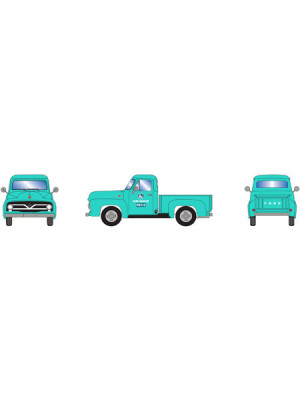 athearn 28105 ford f-100 pickup green