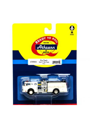 athearn 92014 fire truck white