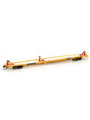 athearn g29536 TTX 89' FLAT CAR #600402