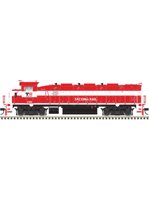 atlas 10002686 tacoma rail genset dcc/snd