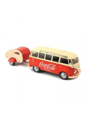 atlas 25000014 1962 vw bus w/trailer