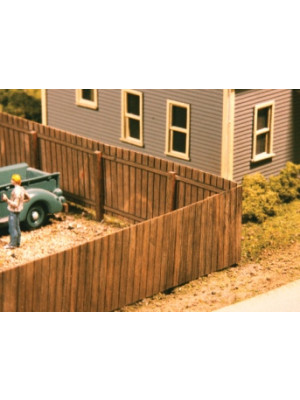 american model builders 334 privacy fence 120'