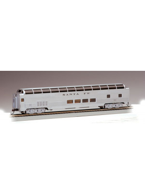 bachmann 13002 85' santa fe dome passenger car