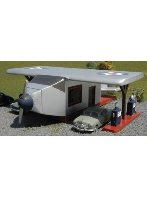 bachmann 35251 airplane gas station