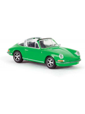brekina 16264 porsche 911 green
