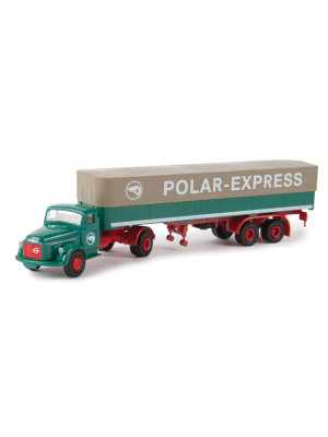 brekina 85609 volvo truck polar express