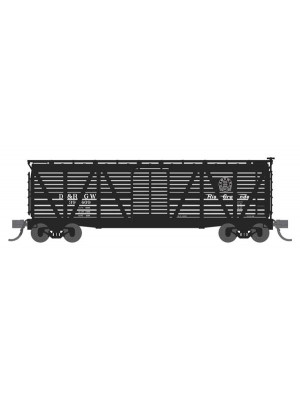 broadway ltd 3574 drgw stock car w/sheep sounds