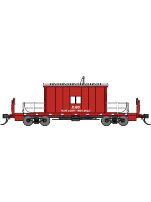 bluford shops 24421 gn caboose #180