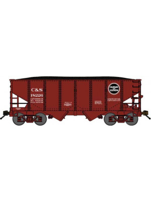 bluford shops 60462 c&s 30' 2-bay hopper 2/pk