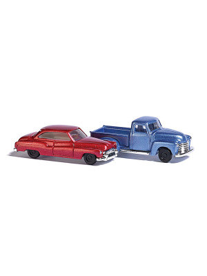 busch 8349 chevy pick up/buick coupe 2pk