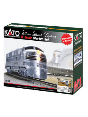 kato 1060041 cb&q zephyr starter set