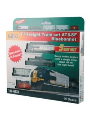 kato 1066273 sf f7a freight set