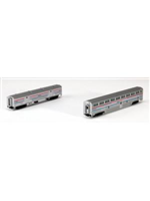 kato 1067122 amtrak stepdown coach/bagg.