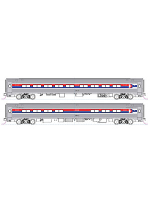 kato 1068013 amtrak coach/cafe set b