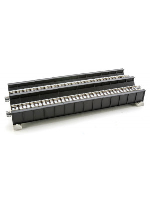 kato 20458 black plate girder bridge double track