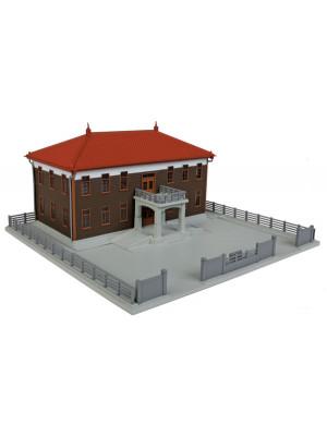 kato 23459b city hall brown built-up