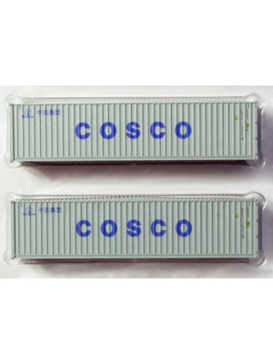 kato 23-507d cosco 40' container 2 pack
