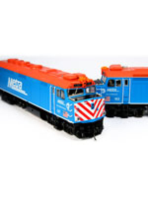 kato 302004 metra rail f40ph set