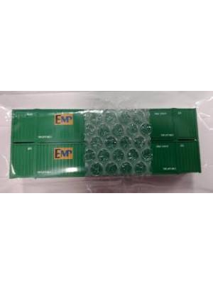 kato 80054b emp 53' container 2pk