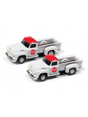 classic mtl wrks 50394 coca cola ford pickups 2pk