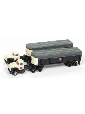 classic mtl wrks 51168 us steel tractor/trlr 2pk