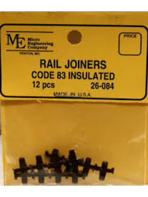 micro engineering 26084 rail joiners code 83 insul