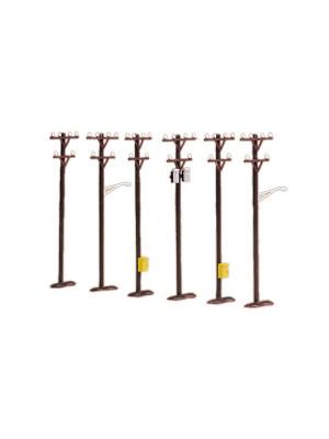 mth 30-1088 telephone pole set
