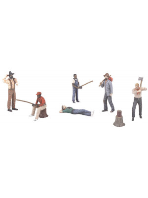 mth 30-11057 outdoor people 6 pack