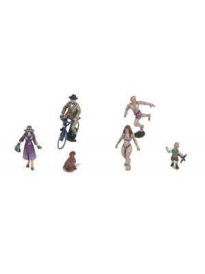 mth 30-11074 6 piece figure set #12
