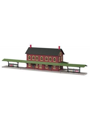 mth 30-90094 passenger station w/dual platforms