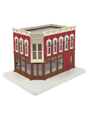 mth 30-90353 taylors video studio corner building