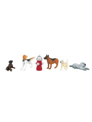 bachmann 33158 dogs with fire hydrant