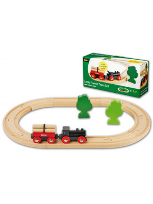 brio 33042 little forest train set