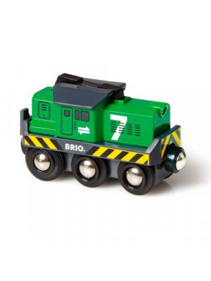 brio 33214 battery freight engine