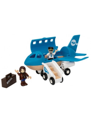 brio 33306 airplane boarding playset
