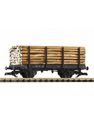 oiko 37781 db 2-axle flat w/log load