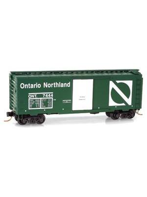 micro trains 02000836 ontario northern boxcar