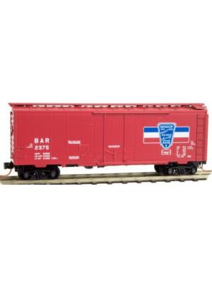 micro trains 02100580 bangor & aroostook boxcar