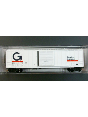 micro trains 02500400 b&m 50ft boxcar