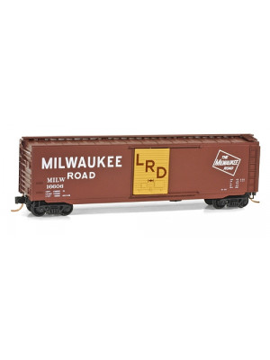 micro trains 03100380 milwaukee road boxcar