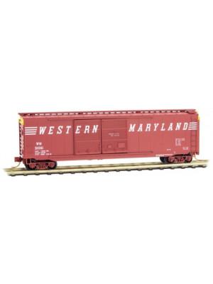 micro trains 3400400 western maryland boxcar