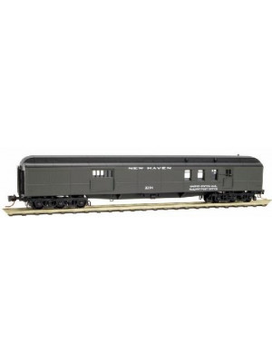 micro trains 14800100 new haven 70' baggage