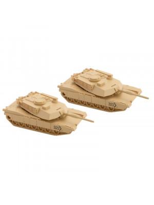 micro trains 499 45 901 m1 abrams tank 2pk
