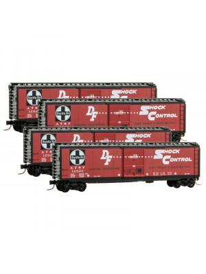 micro trains 99300148 santa fe 50' boxcar 4pk