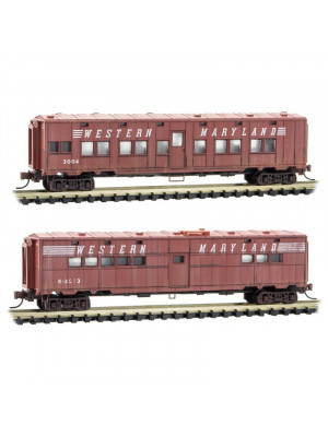 micro trains 99305570 western maryland wthrd 2pk