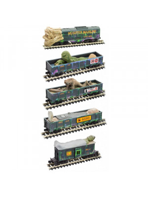 microtrains 9932132 monster mainline halloween set