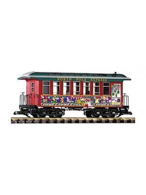 piko 38615 christmas wood coach