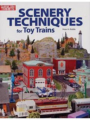 greenberg 108400 scenery techniques for toy trains